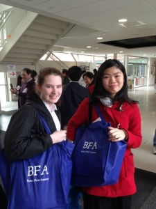 Elizabeth McCormack and Sarah Peng at MA Junior Districts 2014